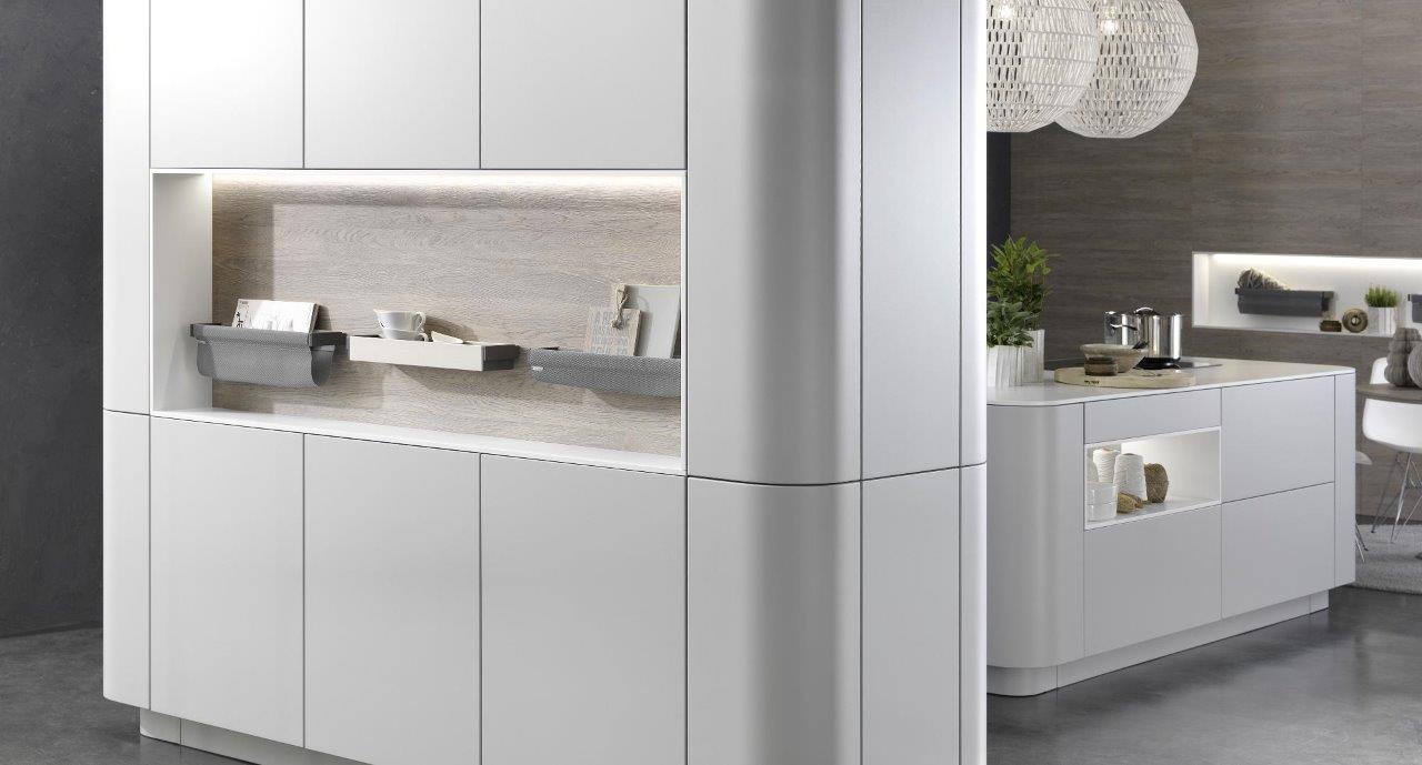 Kitchen tall units rational kitchens gb for Kitchen tall unit design