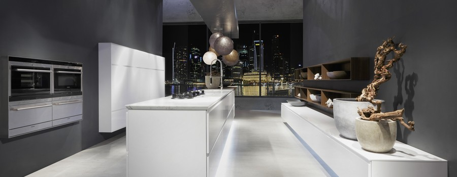 stunning rational solo kitchen